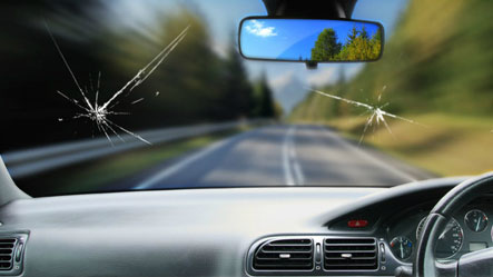cracked windshield pass inspection nj